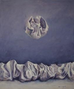 """""""Composizione"""" acrilico su tela - cm. 120 x 100"""